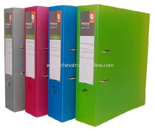 PP Cover Lever Arch File