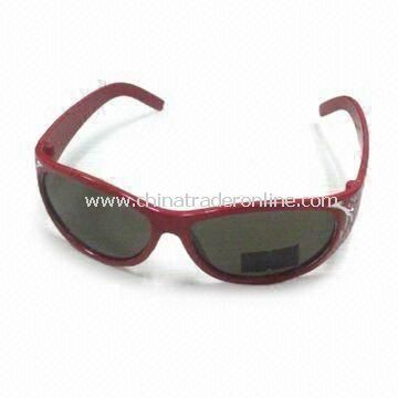 3D Glasses with Plastic Circular Polarized