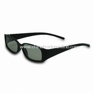 3D Vision Glasses, Available in Cyan and Red Lens, OEM Orders are Welcome