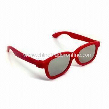 Circular Polarized 3D Glasses for 3D Movies and Cinema with Smooth Cover