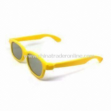 Circular Polarized 3D Glasses for 3D Movies and Cinemas with Smooth Cover