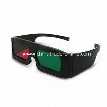 Circular Polarized 3D Glasses with Polarized Efficiency of 99.7%, Transmittance of 43.5%