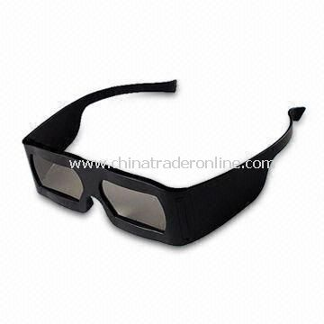Linear 3D Glass with Polarized Efficiency 99.7% Transmittance 43.5% Use for 3D Theater, 3D TV