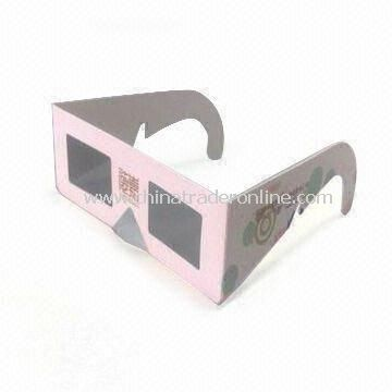 Linear Polarized 3D Glasses, with Polarized Efficiency 99.7%