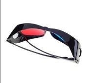 Red and Green 3D Glasses
