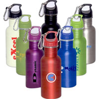 16 oz. Wide Mouth Stainless Steel Water Bottle