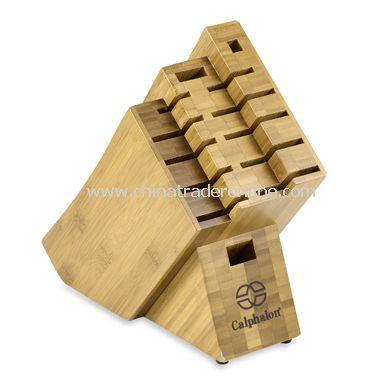 Calphalon Katana 13-Slot Bamboo Knife Block from China