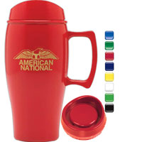 Corn Plastic Travel Mug with Handle