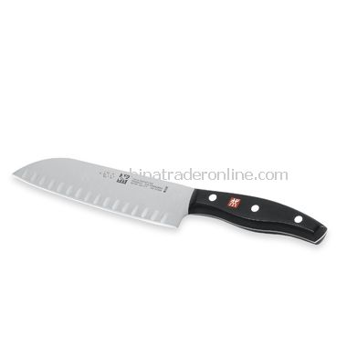 Hollow Edge Santoku Knife from China