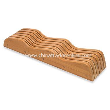 Lipper Bamboo In-Drawer Knife Block
