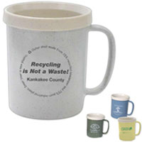 Recycled Mug - 12 oz from China