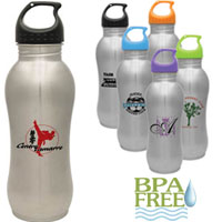 Stainless Steel Hourglass Bottle - 25 oz from China