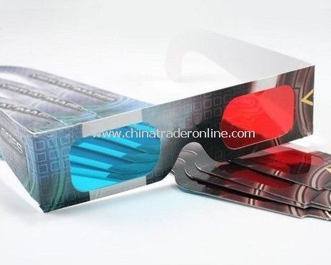 Disposable Paper 3D Glasses