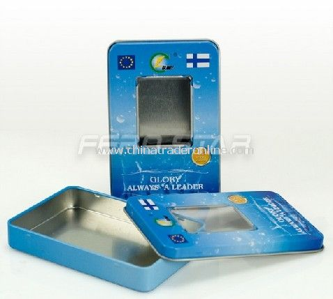 Mobile Battery Tin Box