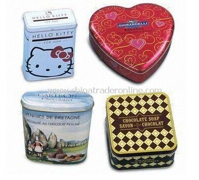 Promotion Gift Tin Can