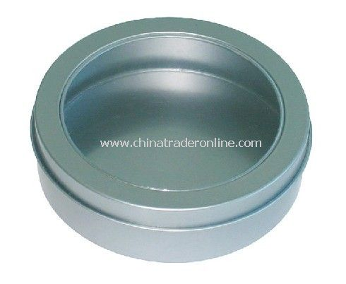 Wholesale round can with pvc window buy discount round can for 12 round window