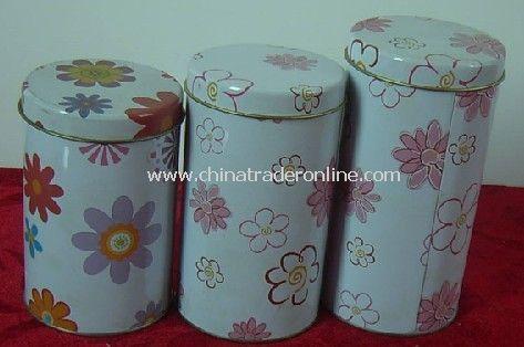 Round Tin Boxes