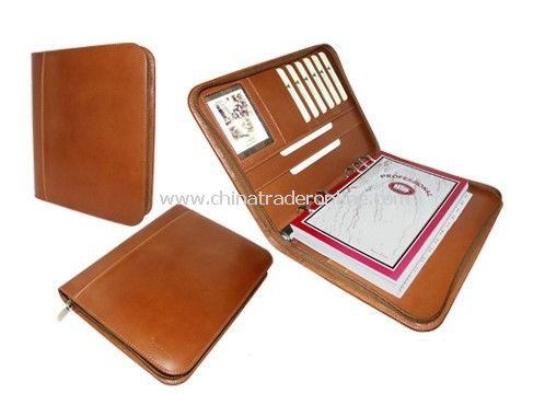 Leather Documents Folder