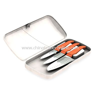 Rachael Ray Gusto Grip 3-Piece Knife Set