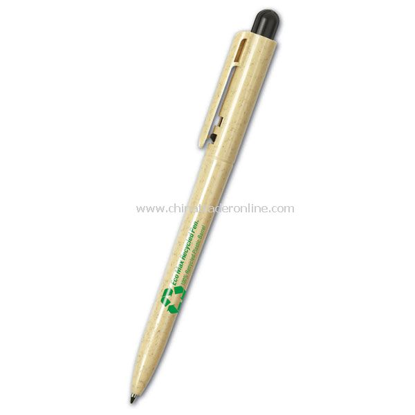 100% recycled plastic barrel Pen