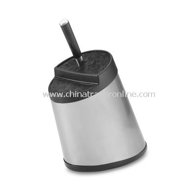Kapoosh Stainless Steel Knife Block