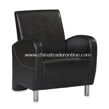 Art Deco Black Club Chair