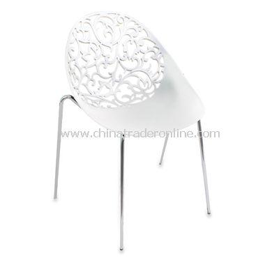 Dahlia White Chairs (Set of 2)