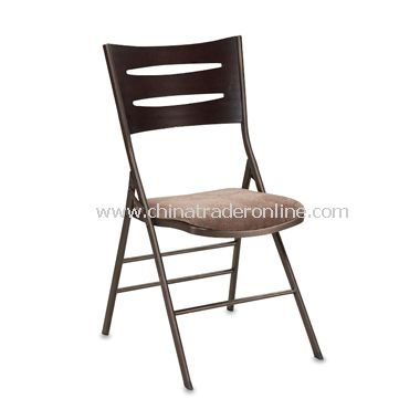 deluxe dining height folding chair