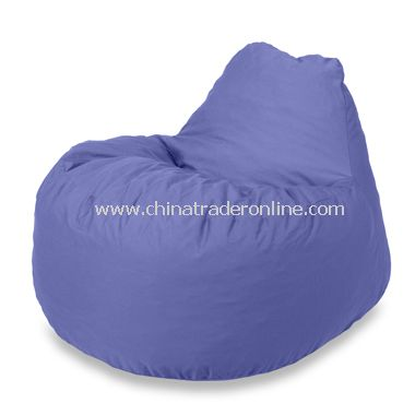 Fuf Chillum Microsuede Blue Chair