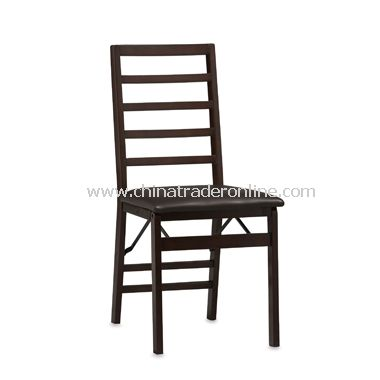 Ladder Back Folding Chair