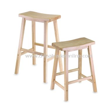 Natural Saddle Stool from China