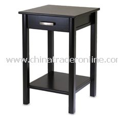 Liso End Table/Printer Stand with Drawer