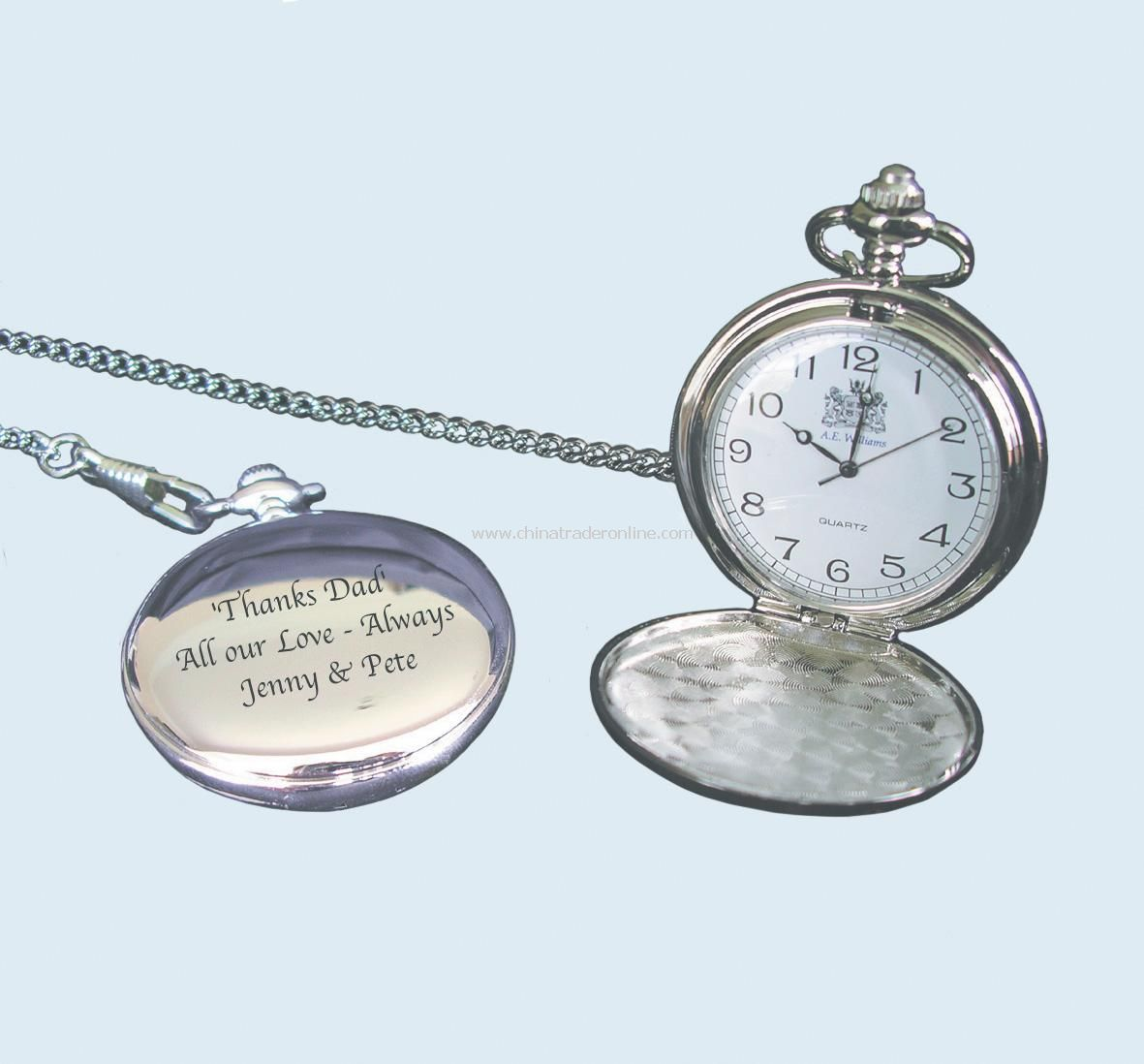 Personalised Fob Watch