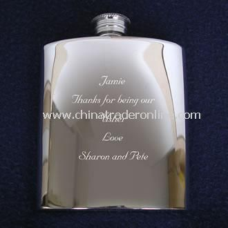 Pewter Hipflask