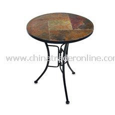 Slate Round Coffee Table