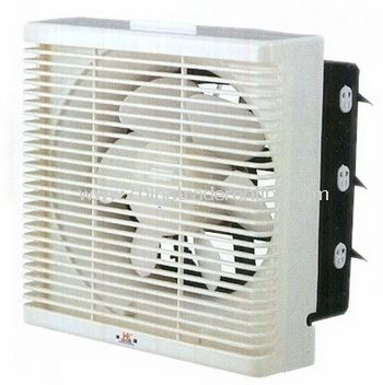 reversible exhaust fan with grill