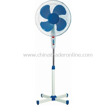 Stand Fan with Cross Base