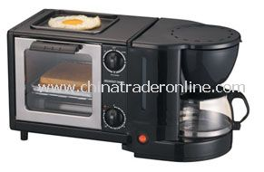 3 In 1 Breakfast Maker(With Coffee Maker)