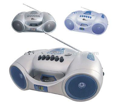 Boombox Cd/Mp3/Vcd Player with ROHS