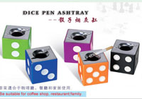 Plastic Dice Ashtray