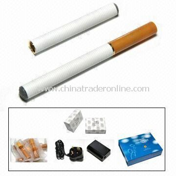 Electric Cigarette, Available in Various Colors and Flavors, Measuring 102 x 9.3mm