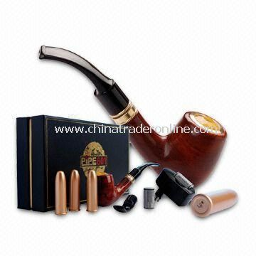 Tobacco Pipe with 3.3 to 4.2V Normal Working Voltage and 950mAh Battery