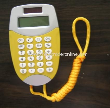 Handheld Dual Power Calculator