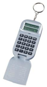 Key Chain Currency Calculator with Cover from China