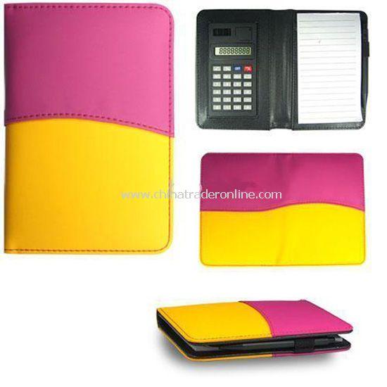3 in 1 Leather Calculator