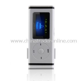 4GB OLED Fashion Design MP3 Player With Speaker