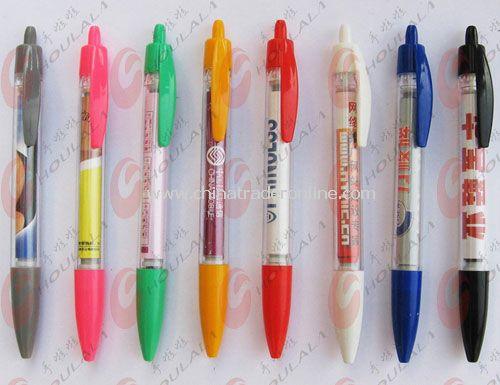 Promotional Ballpoint Banner Pens