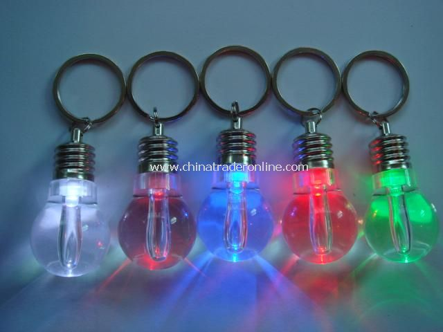 Keychain Lamp Bulb USB Drive from China