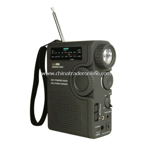 Dynamo Radio Flashlight