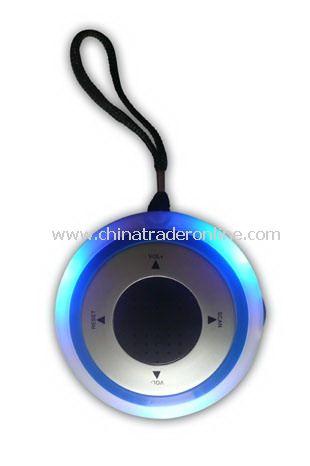 Shower Radio with LED Light
